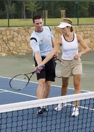 Lekce tenisu