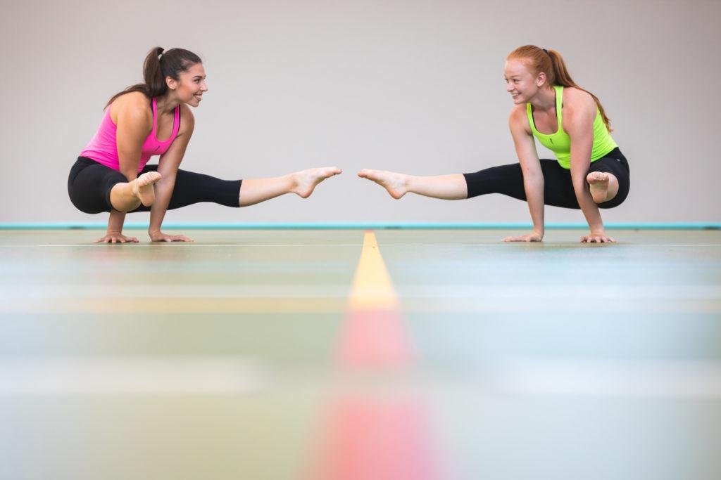 corridoor aerobik gymnastika český brod praha10 cvičení pro děti